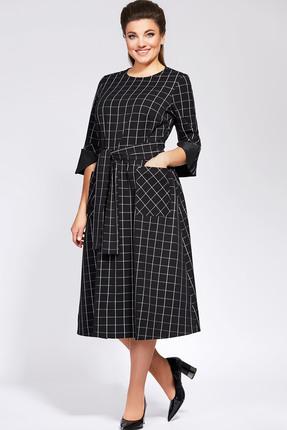 Платье Olga Style 691 черный