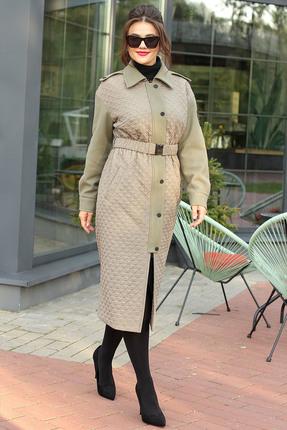 Пальто Мода-Юрс 2607 хаки