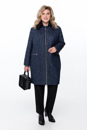 Пальто Pretty 789 темно-синий