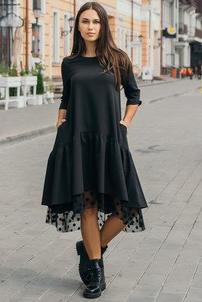 Платье Krasa 97-20 черный