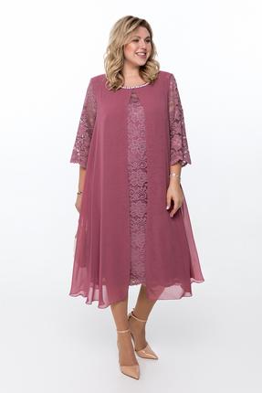 Платье Pretty 749 розовые тона