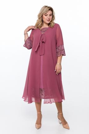 Платье Pretty 802 розовые тона