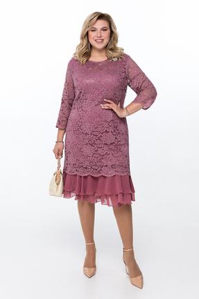 Платье Pretty 906 розовые тона