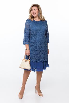 Платье Pretty 906 синий