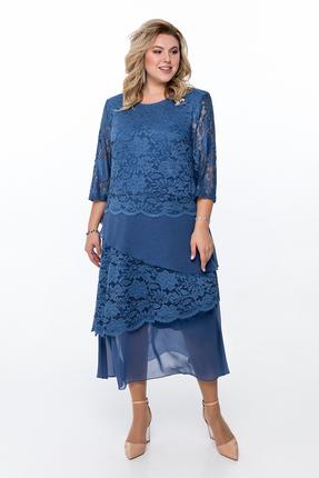 Платье Pretty 908 синий