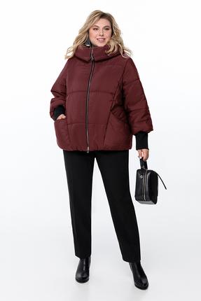 Куртка Pretty 954 бордовые тона