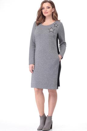 Платье Bonna Image 210 серый