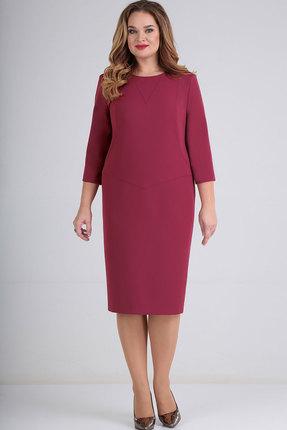 Платье Elga 01-683 малина
