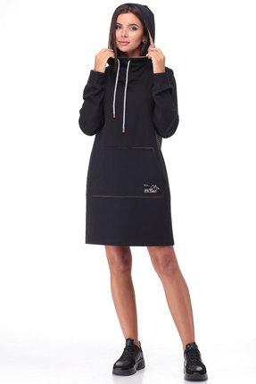 Спортивное платье TawiFa 1056 чёрный
