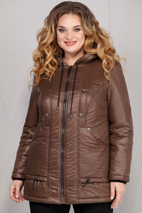 Куртка Ivelta plus 873 коричневый