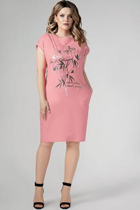 Платье Panda 444780 розовый