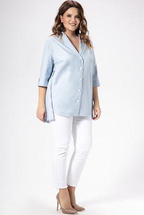 Рубашка Panda 448140 голубой