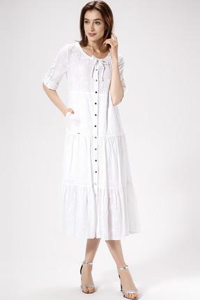 Платье Panda 448480 белый
