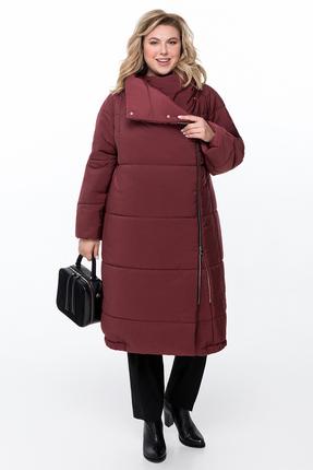 Пальто Pretty 1173 марсала