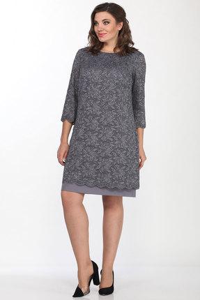 Платье Lady Style Classic 1493/4 серый