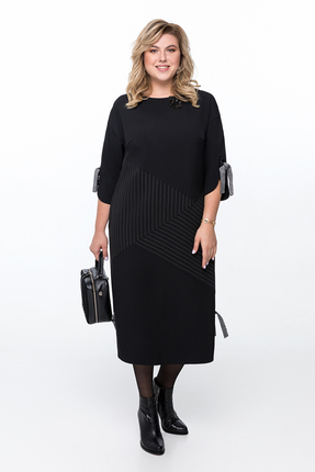 Платье Pretty 1191 черный