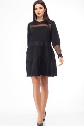 Платье Anelli 792 черный