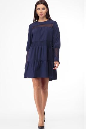 Платье Anelli 792 темно-синий
