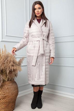 Пальто SandyNa 13862 светло-серый