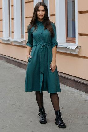 Платье Krasa 184-20 зеленый