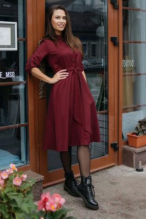 Платье Krasa 184-20 бордо