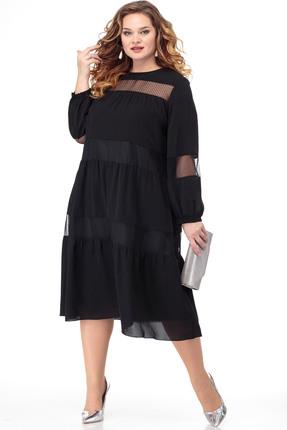 Платье Anelli 797 черный