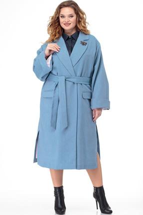 Пальто Anelli 914 голубые тона
