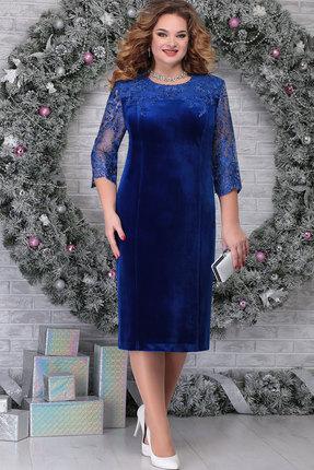 Платье Ninele 2274 василёк