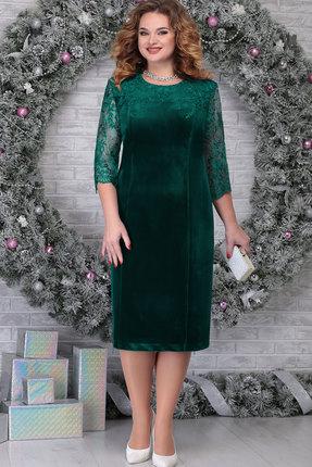 Платье Ninele 2274 изумруд