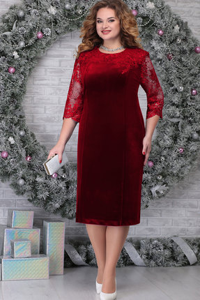 Платье Ninele 2274 красный