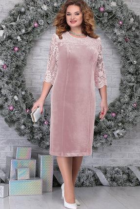 Платье Ninele 2274 пудра
