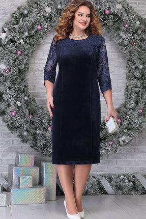 Платье Ninele 2274 тёмно-синий