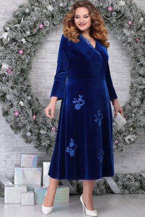 Платье Ninele 2275 василёк