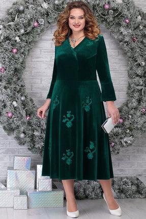 Платье Ninele 2275 изумруд