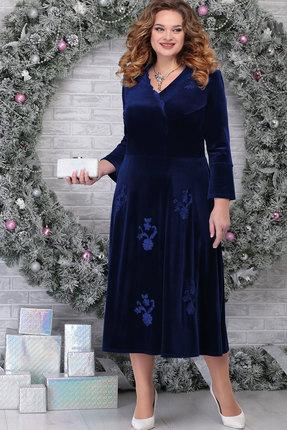 Платье Ninele 2275 тёмно-синий