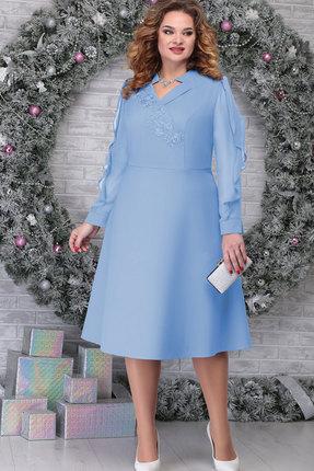 Платье Ninele 5808 голубой