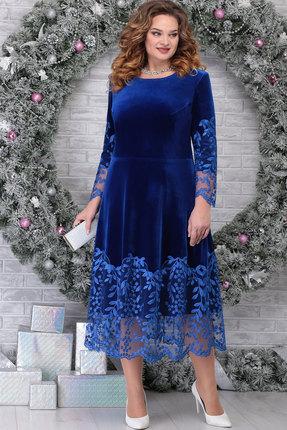 Платье Ninele 5811 василёк