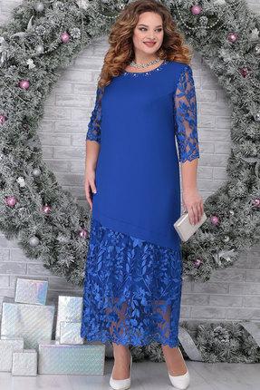Платье Ninele 7306 василёк