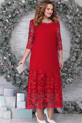 Платье Ninele 7306 красный
