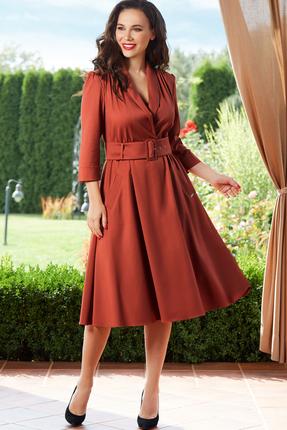 Платье Teffi style 1446 терракот