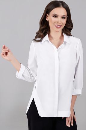 Блузка Teffi style 1504 белый