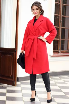 Пальто Мода-Юрс 2615 красный