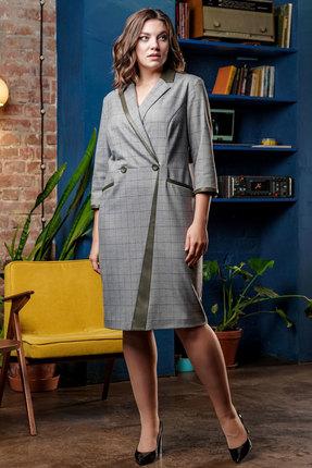 Платье Elady 3708 серый