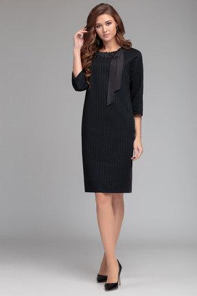 Платье Gizart 7373с темно-синий