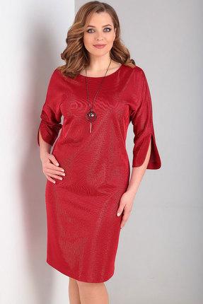 Платье Ксения Стиль 1832 красный
