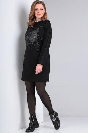 Платье Viola Style 0944 черный