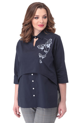 Блузка Danaida 1790 темно-синий
