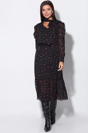 Платье LeNata 11155 черный