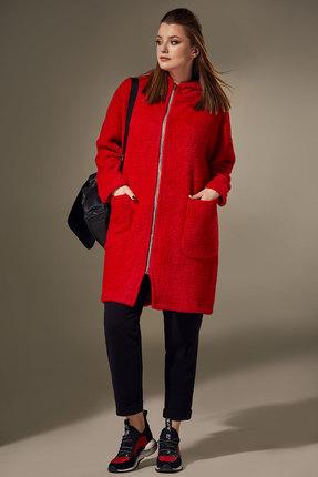 Кардиган Andrea Style 00305 красный