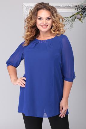 Блузка Michel Chic 750 светло синий